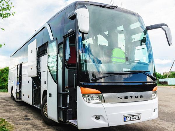 Setra S 417 HDH аренда автобусов в киеве