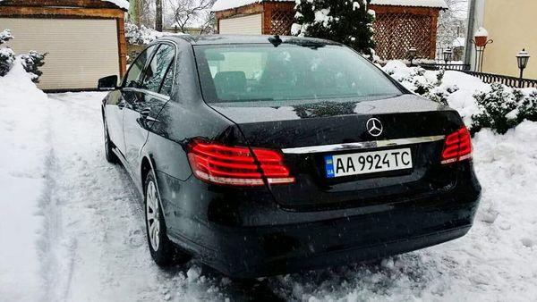 Mercedes W212 черный прокат аренда авто