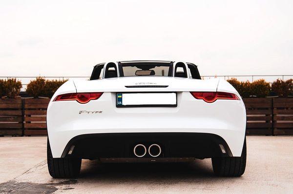 Кабриолет Jaguar F-Type аренда на прокат