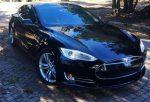 Tesla S P85 аренда авто код 059
