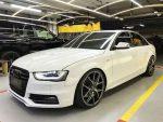 Audi S4 белая аренда авто код 070