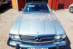 Ретро автомобиль Mercedes SL 107 1985 год код 171