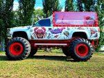 Party Bus Monster truck пати бас прокат арендовать с водителем код 073