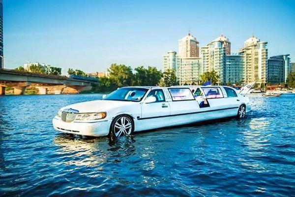 Аренда Aqua-Limousine аква лимузин на свадьбу девичник день рождения
