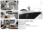 Арендовать яхту катер на прокат в Киеве Bayliner 2855 premium VIP