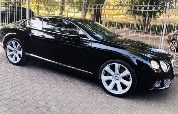 Bentley Continental GT 2013 год прокат аренда