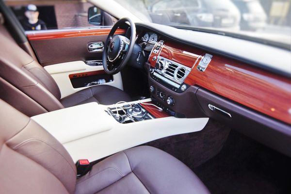 Rolls Royce Ghost прокат аренда на свадьбу киев