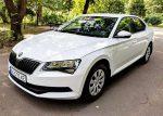 Skoda Superb белая 2019 аренда авто код 360
