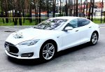 Tesla Model S 75D белая аренда код 365