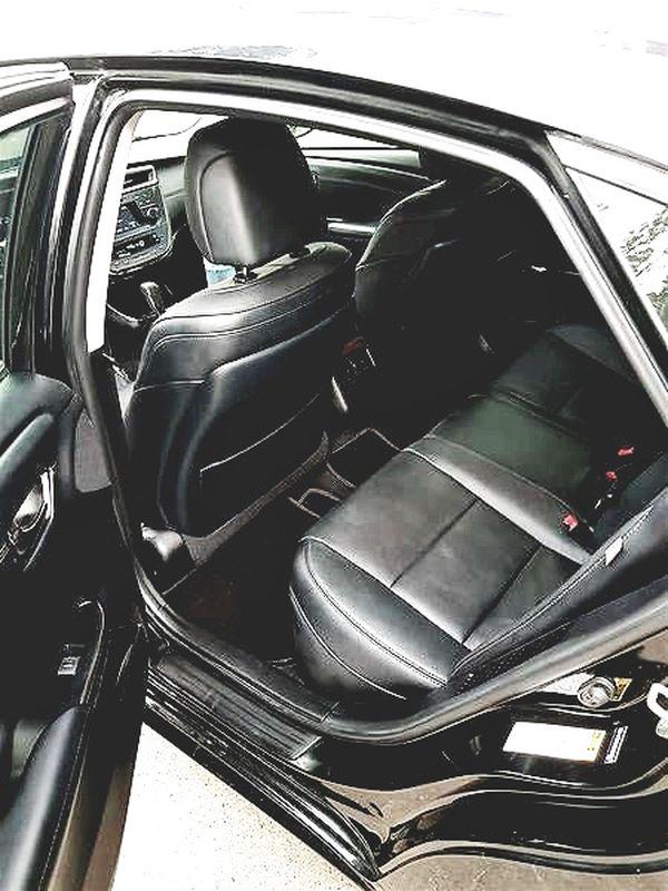 Toyota Avalon черный прокат аренда в киеве
